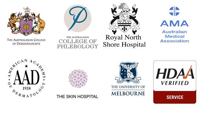 Example of colour logos